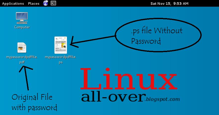 How to Remove PDF Password via Linux (Kali Linux) - Tech Sarjan