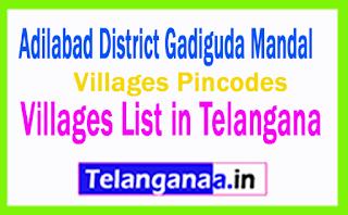Adilabad District Telangana Villages