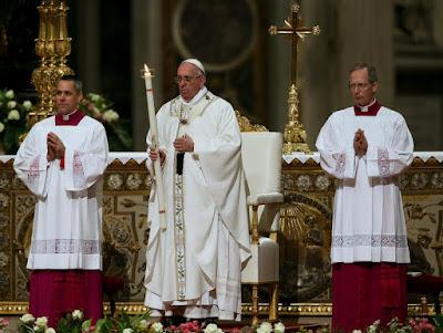 Франциск провів богослужіння напередодні свята Великодня