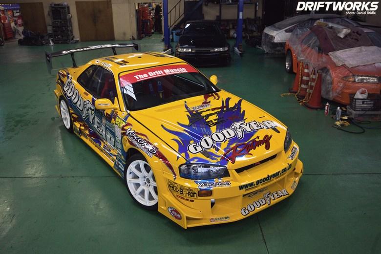 Midnight Garage Bodykit Centre Nissan Skyline Uras D1