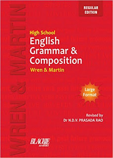 Download Free Wren & Martin English Grammar PDF Book