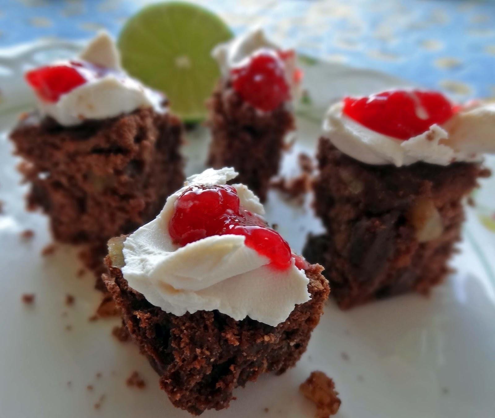 Chocolate Raspberry Vegan Cakes