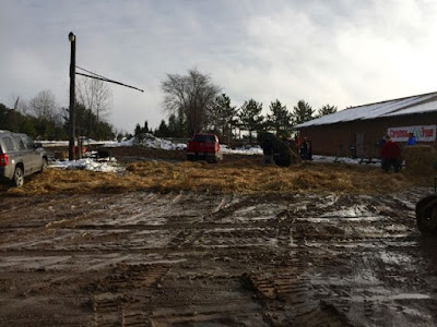 a muddy North Country Christmas?