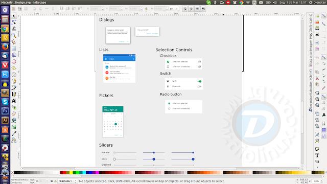 Materia Design SVG