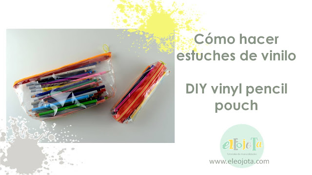 tutorial estuches vinilo