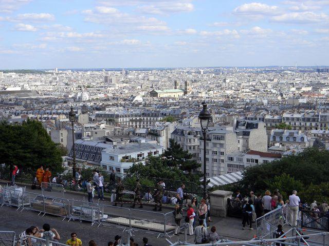 krajobrazy Paryża, Francja, atrakcje Paryża