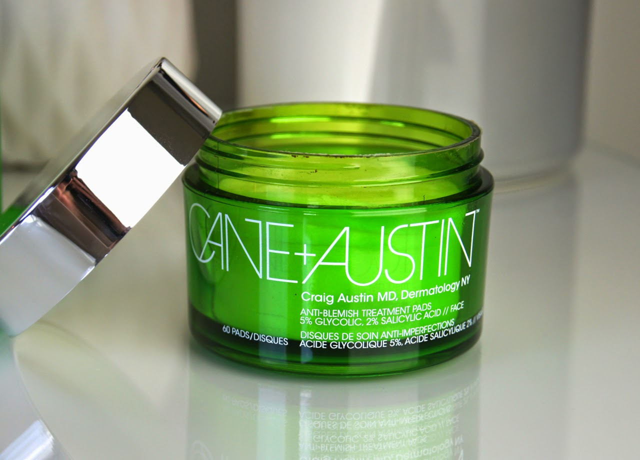 cane and austin anti blemish treatment pads review