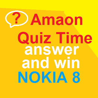 nokia 8 quiz time answer and win