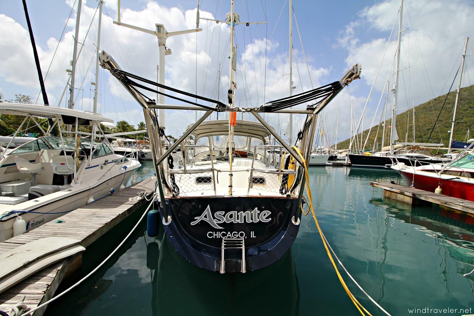 Windtraveler: Windtraveler: Asante Is FOR SALE: Blue Water Brewer 44
