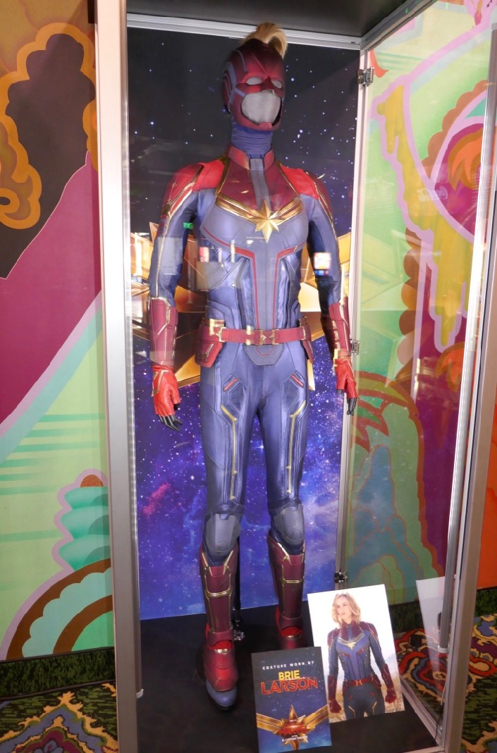Hollywood Movie Costumes And Props Brie Larson S Captain Marvel Movie Costume On Display Vogue discovers the vision behind the captain marvel costumes by designer sanja milkovic hays, who talks about working with brie larson on marvel's read more: captain marvel movie costume
