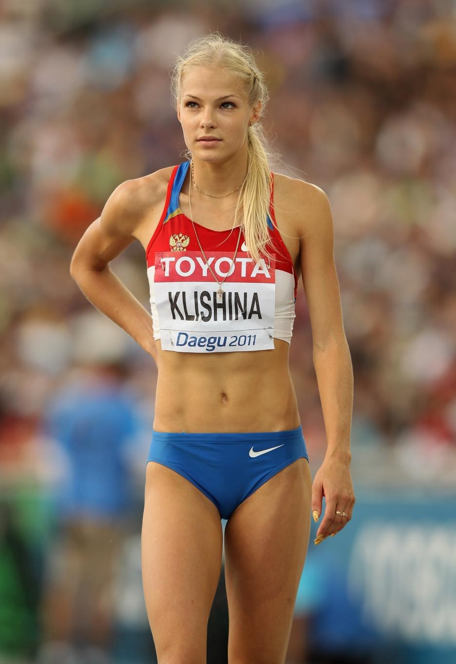 Hot Athletes Female Nude