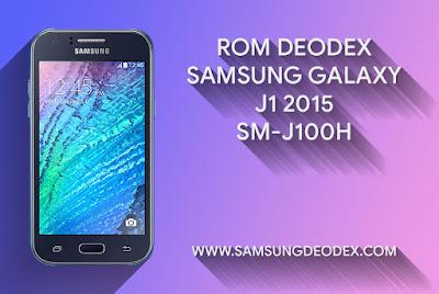 ROM DEODEX SAMSUNG J100H