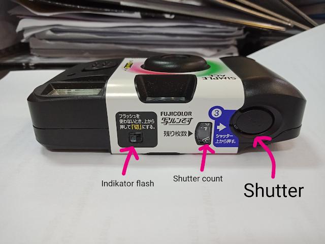 Kembali ke Masa Lalu dengan Kamera Disposable Fujifilm Simple Ace 400