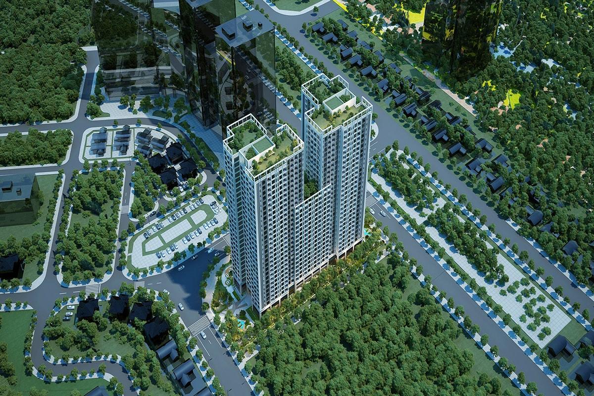 Tổng thể dự án Tecco Skyville Tower