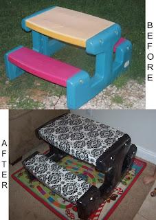 Image: Kids Picnic Table Redo