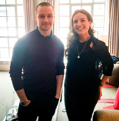 James McAvoy interview and burger chat