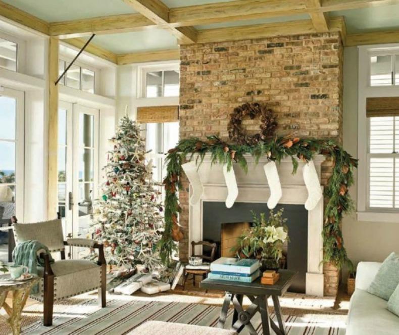 Christmas coastal style