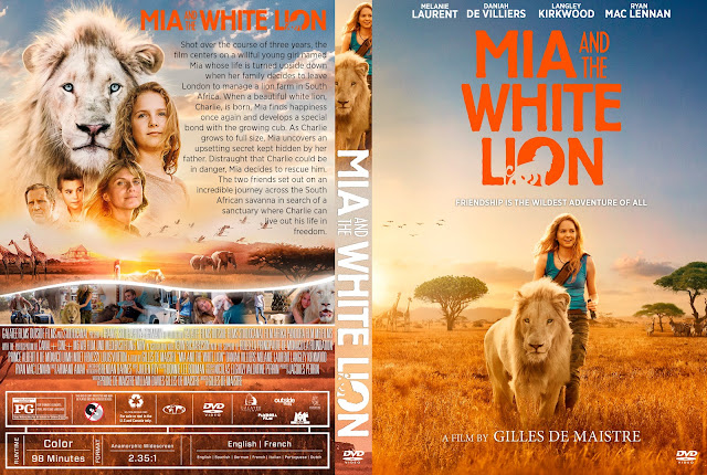Mia And The White Lion DVD DVD Cover