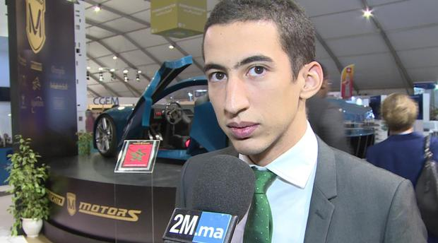 Un ingénieur Marocain invente la voiture sportive 100% électrique.