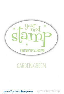 Premium Dye Ink Pad Garden Green