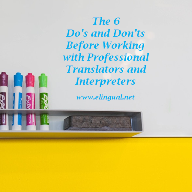 Translation and Interpretation Client Tips | www.elingual.net