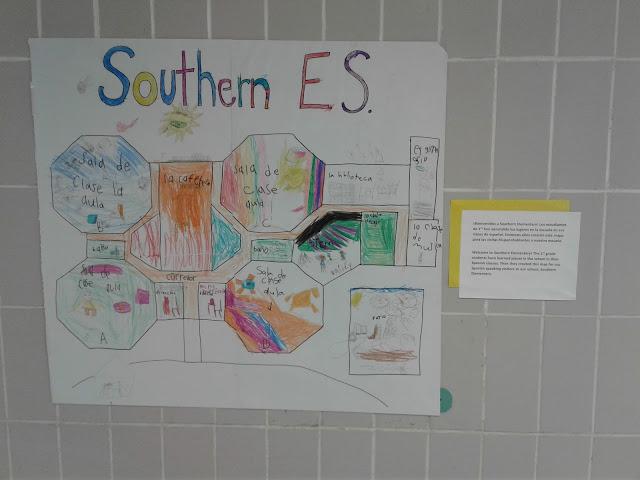 mapa de la escuela proyecto
