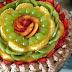 Weaving Basket Chocolate Fruit Cake