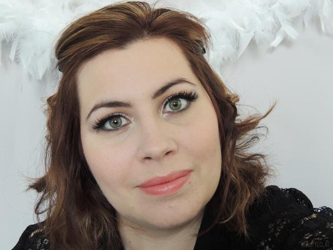 tutoriel pas a pas maquillage de fetes facile paillettes faux cils 2016