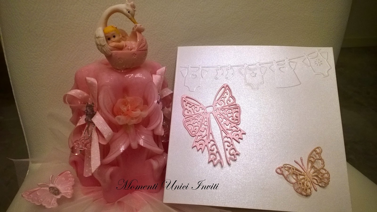 8 Card nascita per una piccola principessa...Battesimo Biglietti Nascita