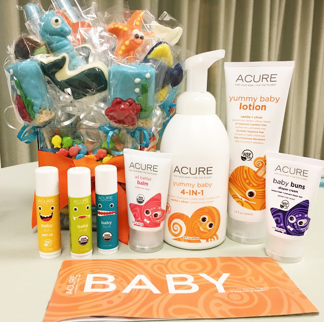 Natural skincare for baby