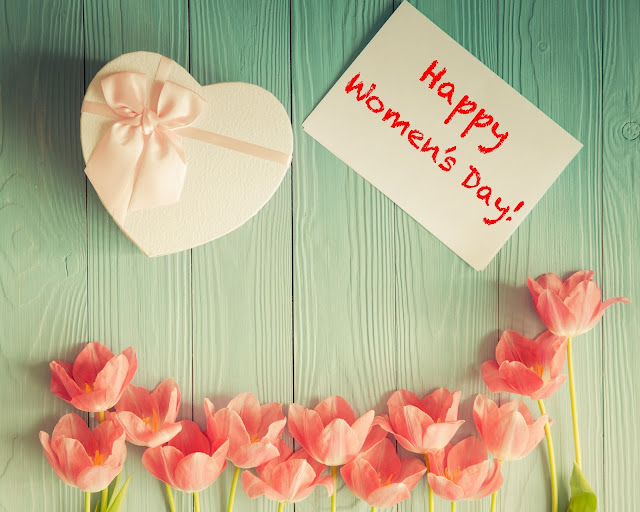 Happy women's day HD Wallpaper