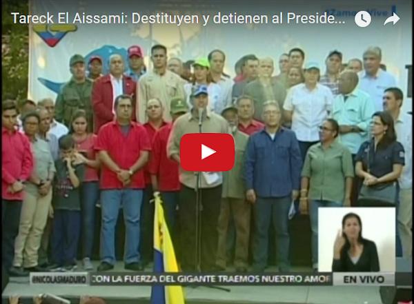 El Aissami destituye a Vice-Presidente de Pequivén
