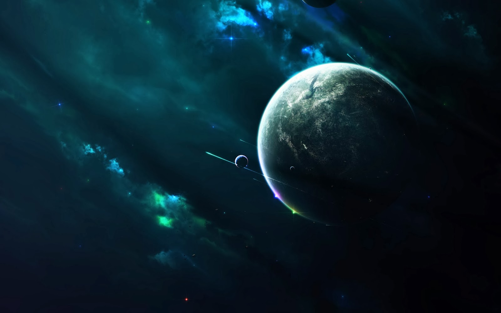 cool hd wallpapers nine planets - photo #13