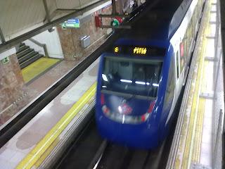 Servicio del metro de Madrid en Nochevieja