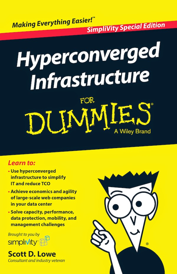 free eBook hyperconverged infrastructure for dummies