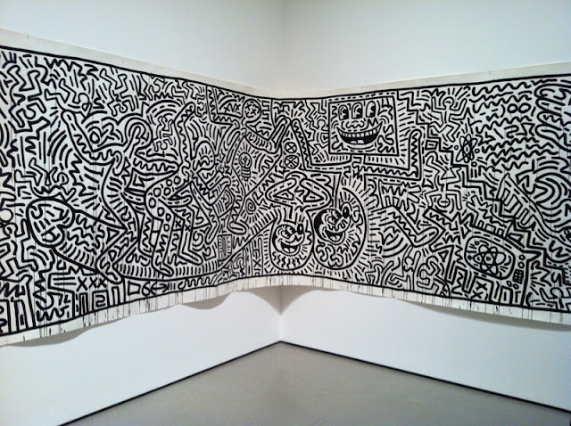 surfin estate blog surf culture mode trend music art moma new york museum of modern art Keith Haring - Untitled, 1982
