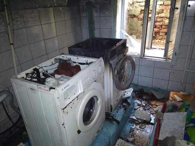 В Уфе в детском саду загорелась стиральная машинка