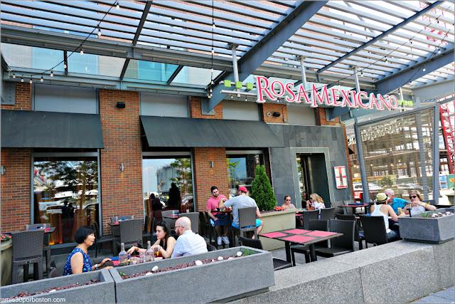 Boston Dine Out Agosto: Terraza del Rosa Mexicano