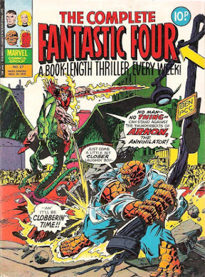The Complete Fantastic Four #27, Arkon