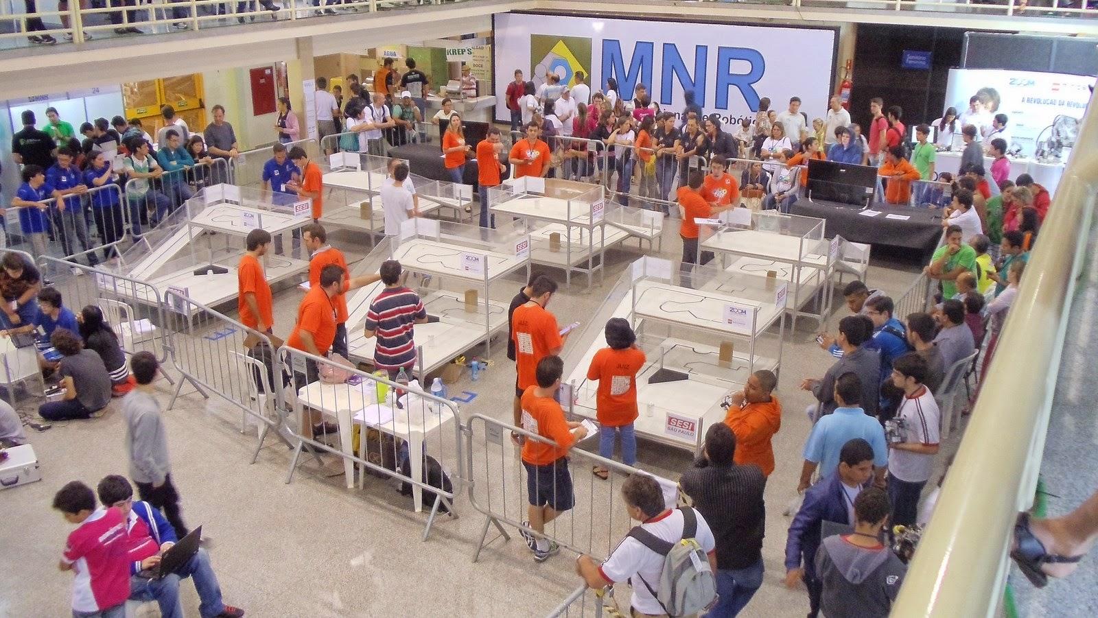 Mostra Nacional de Robótica - Competições