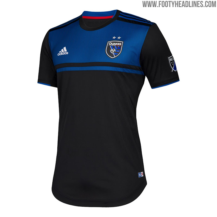 9649913cc38 San Jose Earthquakes 2019 Home Kit Released - Footy Headlines