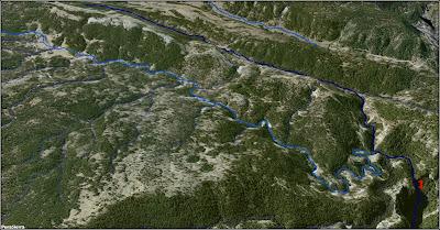 El Río Escabas a vista de pájaro (imagen 1)