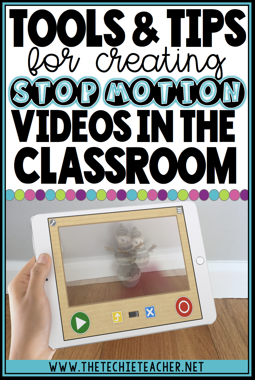 Tools and tips for creating stop motion videos in the elementary classrooms. FREE apps and web tools that can be used on iPads, Chromebooks, laptops/computers are included!
