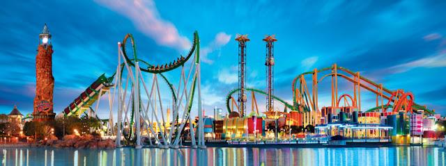 Parque Island Of Adventure Orlando - Melhores parques Orlando