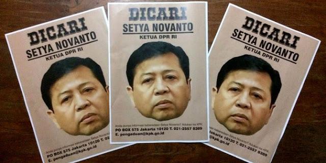 Sayembara Berhadiah Rp 10 Juta untuk Temukan Setya Novanto