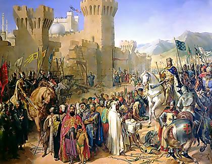 Acre fell to Philip II and Richard I