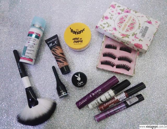 Produtos favoritos do momento #18: Maquiagem