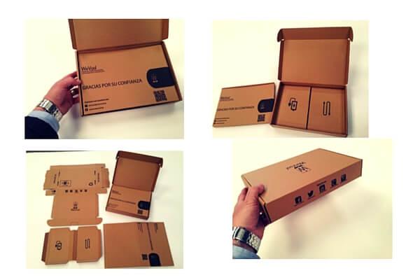 cajas para envios de moviles