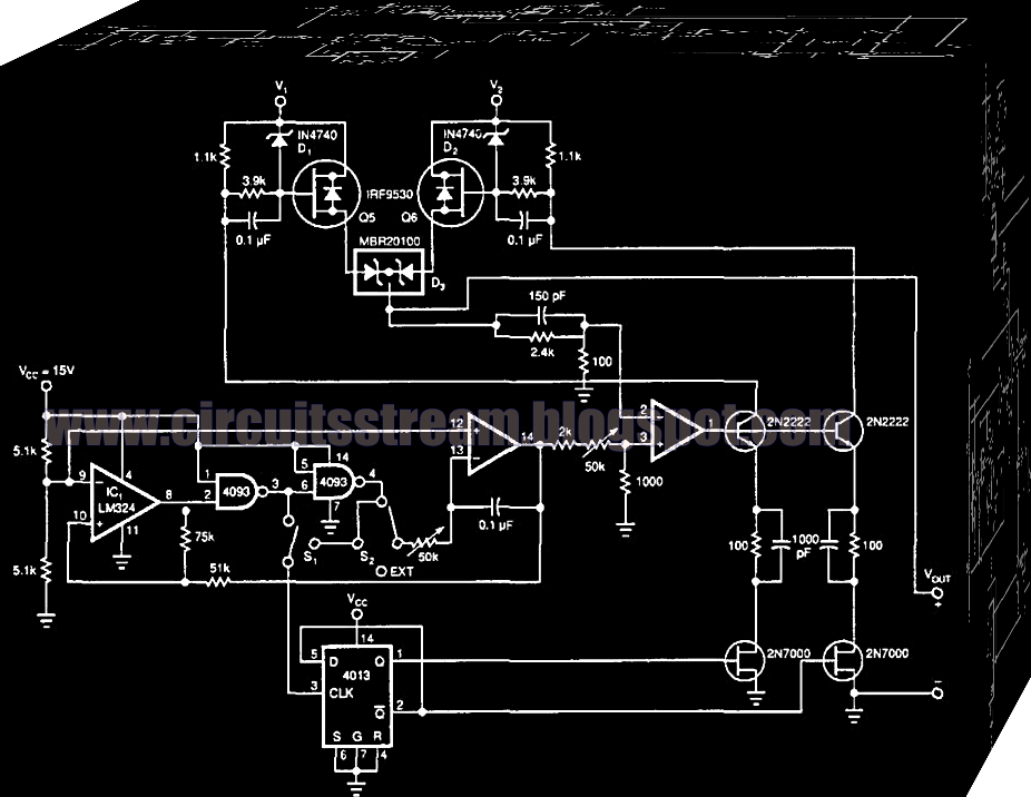 Simple Systematic Power Booster Circuit Diagram