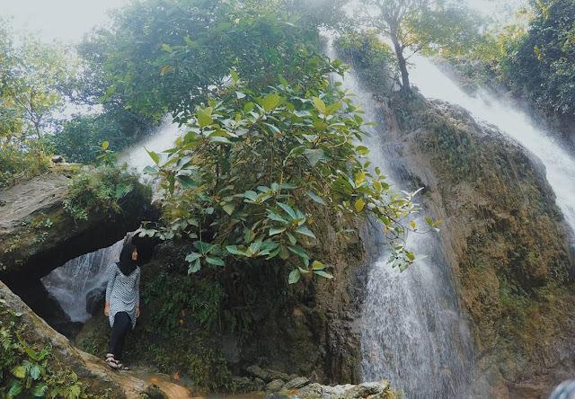 foto air terjun sri gethuk gunung kidul